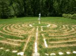 Consciousness Vortex and labyrinth