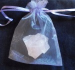 Rose Quartz in Bag 002