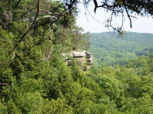 Conkles Hollow Cliff