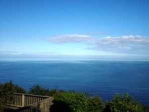 Irish Sea from cottage
