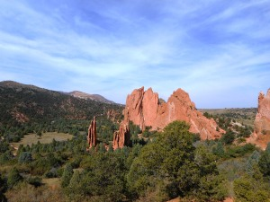 A photo from my recent trip to Colorado Springs - Garden of the Gods